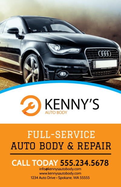 Full-Service Auto Repair Flyer Template Preview 1