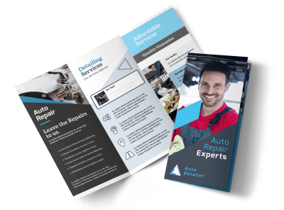 Auto Repair Brochures Template Preview