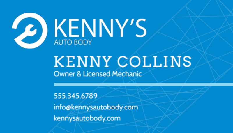 Friendly Auto Repair Business Card Template Preview 2
