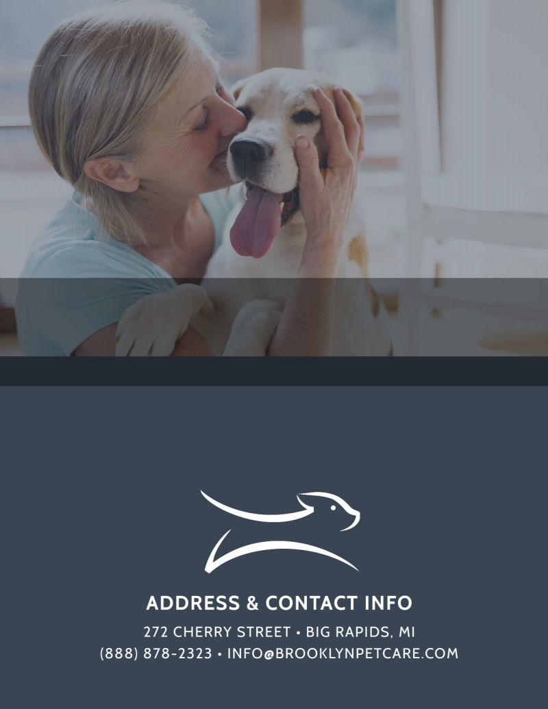 We Love Pet Sitting Flyer Template Preview 3