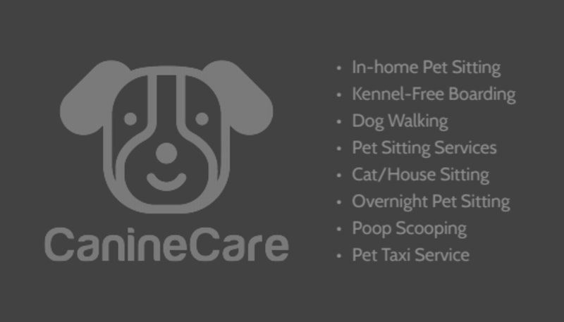 In-Home Pet Sitting Business Card Template Preview 3
