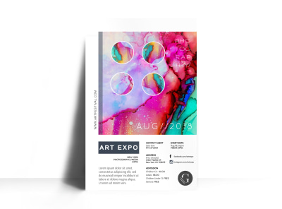 Art Expo Poster Template preview
