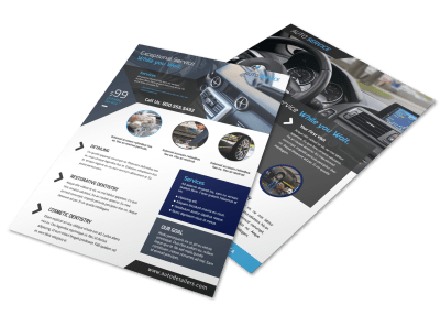 Auto Detailing Flyers Template Preview