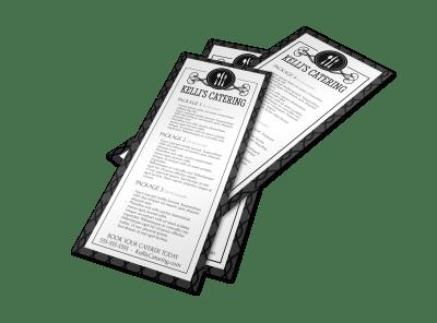 Catering Menus Template Preview