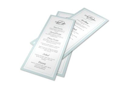 Wedding Menu Template preview