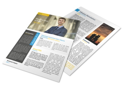 Missionary Newsletter Template preview