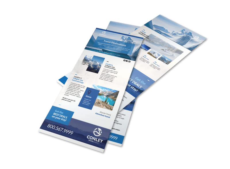 Conley Travel Activities Flyer Template