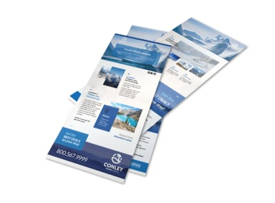 Conley Travel Activities Flyer Template preview