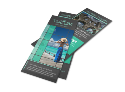 Tulum Vacation Packages Flyer Template