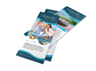Travel Special Offer Flyer Template preview