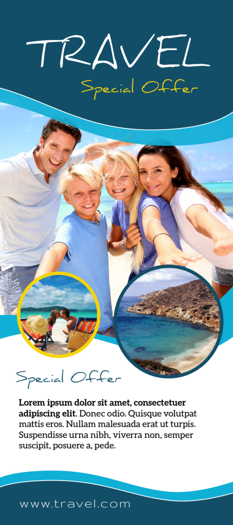 Travel Special Offer Flyer Template Preview 2