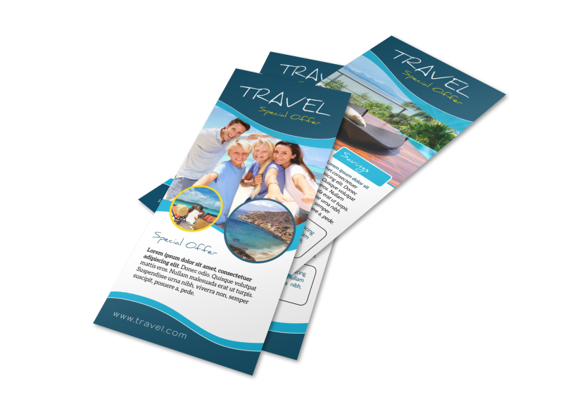 Travel Special Offer Flyer Template Preview 1