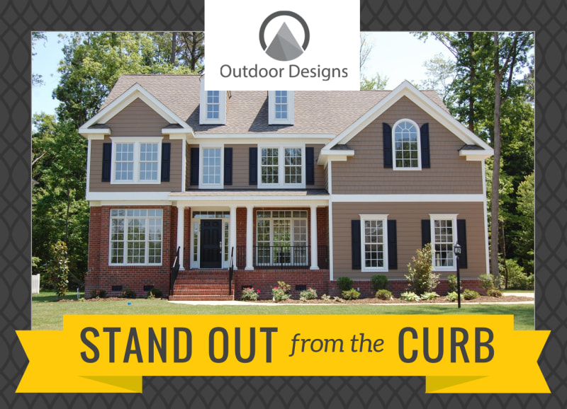Stand Out Landscaping EDDM Postcard Template Preview 2