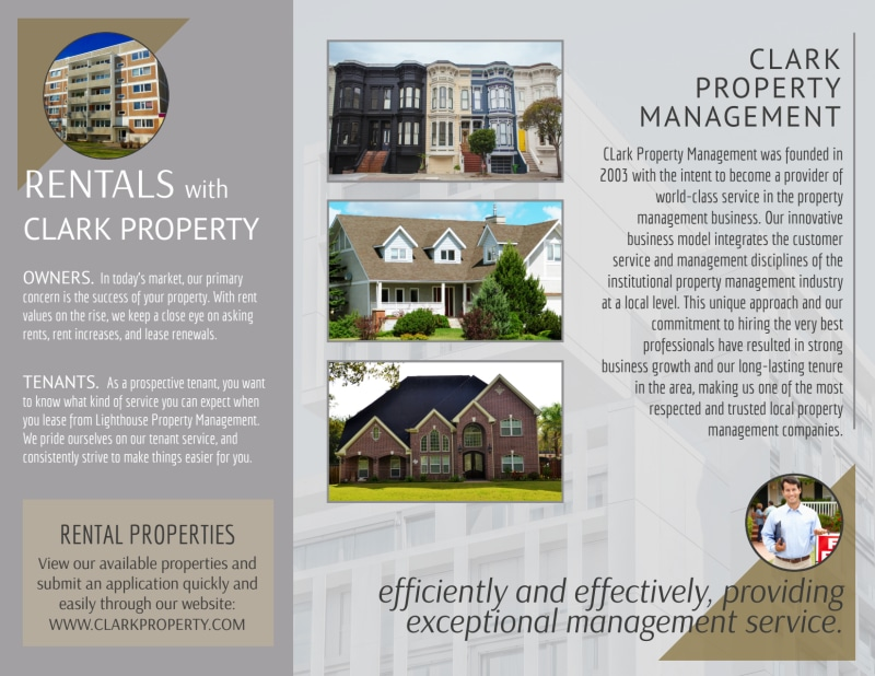 Property Management Expertise Tri-Fold Brochure Template Preview 3