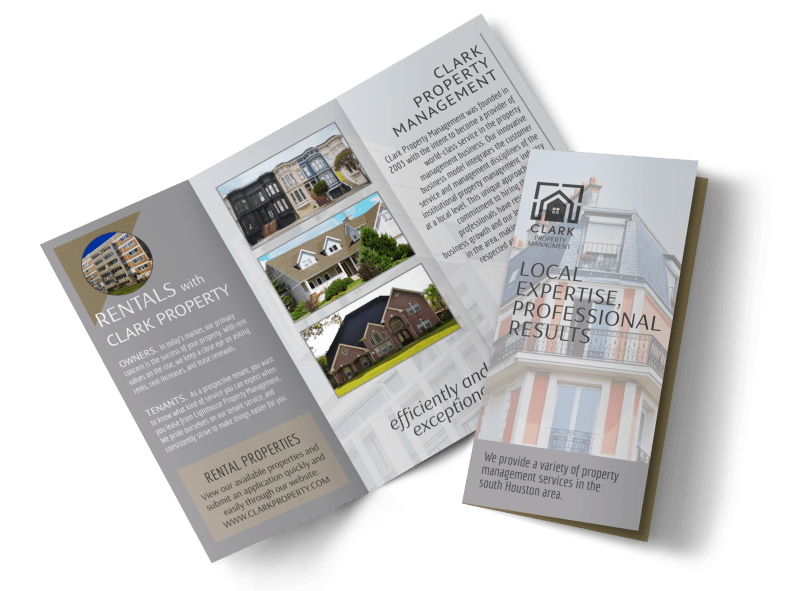 Property Management Expertise Tri-Fold Brochure Template Preview 1
