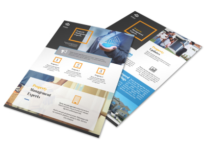 Awesome Property Management Flyer Template preview