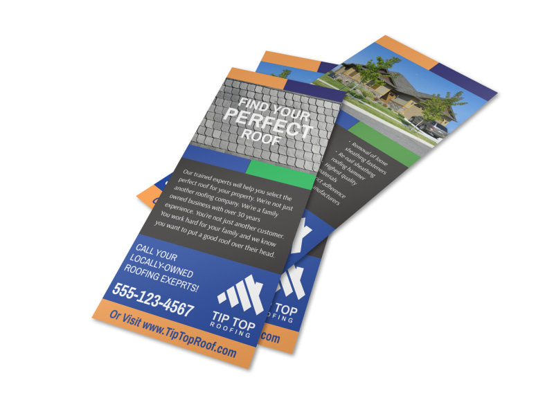 Find Your Perfect Roof Flyer Template