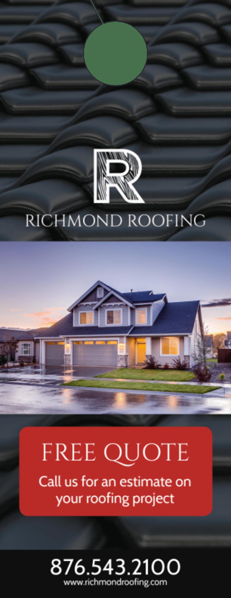 Roofing Quote Door Hanger Template Preview 2