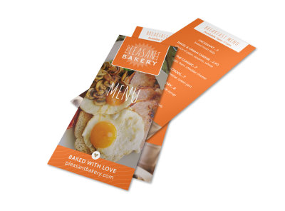 Breakfast Menu Template preview