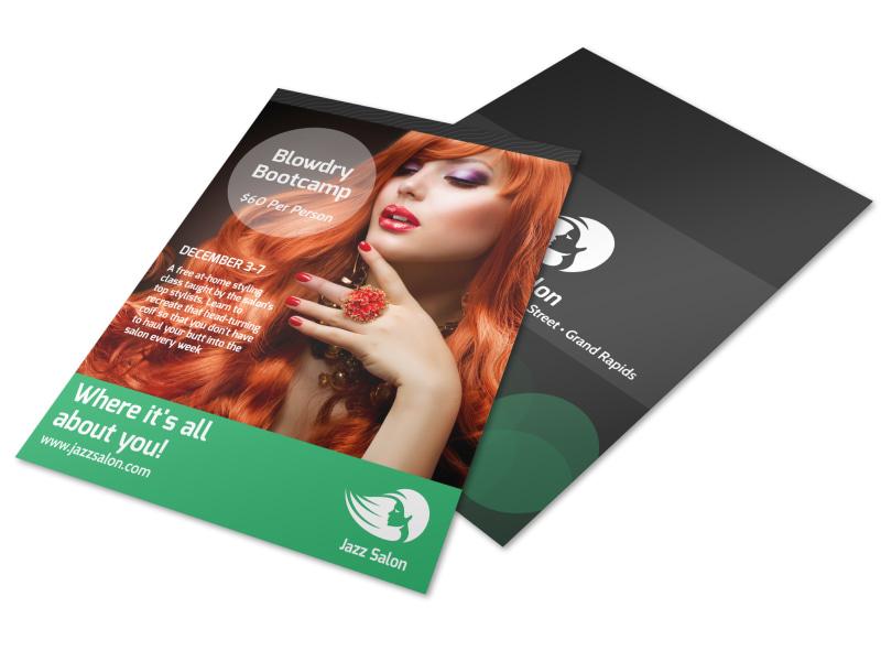 Hair Salon Special Events Flyer Template Mycreativeshop