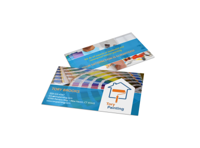 Painting Business Card Templates Template Preview