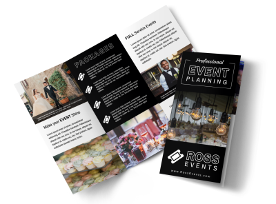 Event Brochures Template Preview