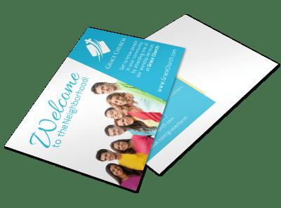 Church Postcard Templates Template Preview