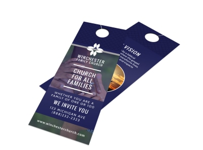 Invitation Door Hangers