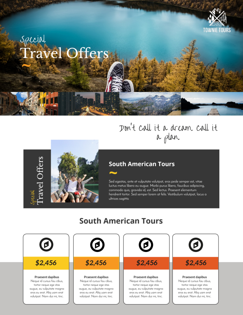 Special Travel Offer Flyer Template Preview 2