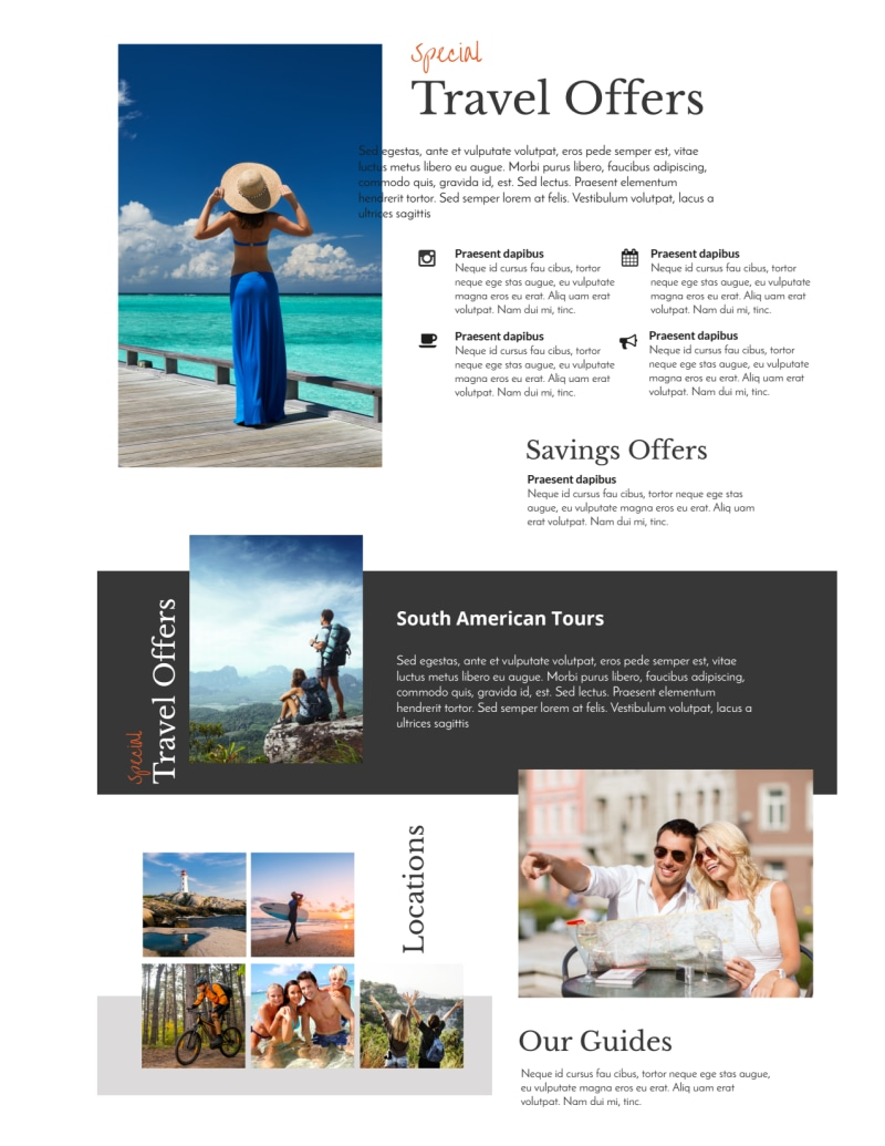 Special Travel Offer Flyer Template Preview 3