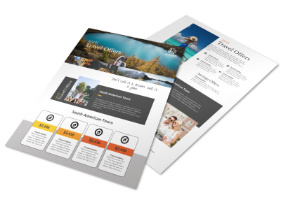 Special Travel Offer Flyer Template preview