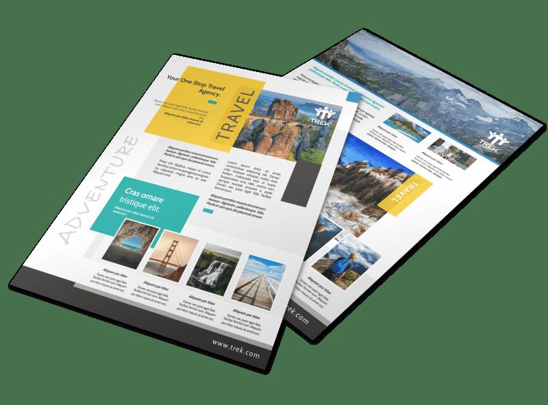 Outdoor Travel Activities Flyer Template Preview 1