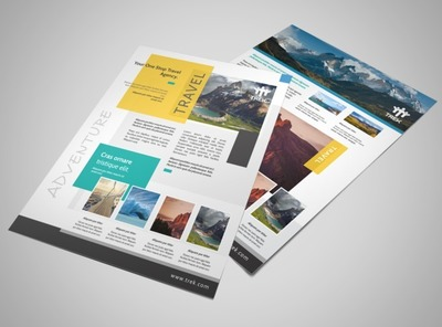 Outdoor Travel Activities Flyer Template