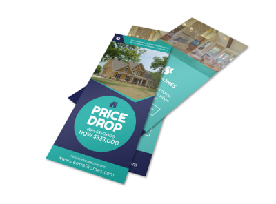 Real Estate Price Drop Flyer Template preview