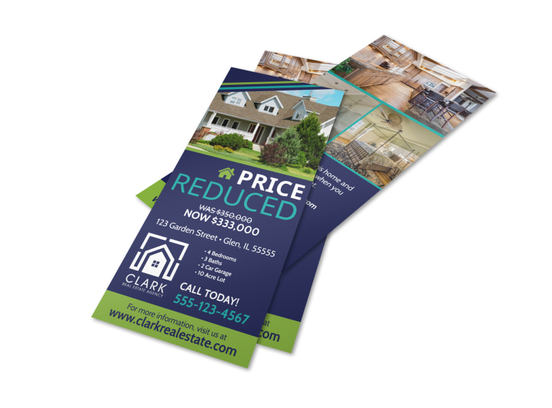 Sale Price Reduced Flyer Template