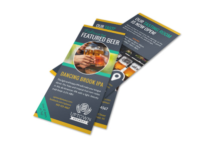 Featured Craft Beer Flyer Template preview