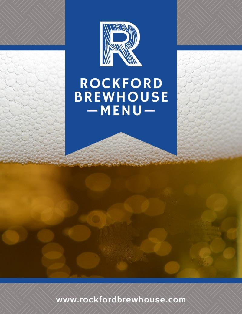 Rockford Brewery Menu Template Preview 2