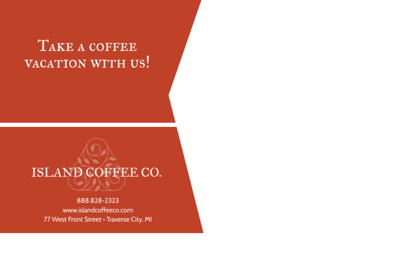 Coffee BOGO Postcard Template Preview 3