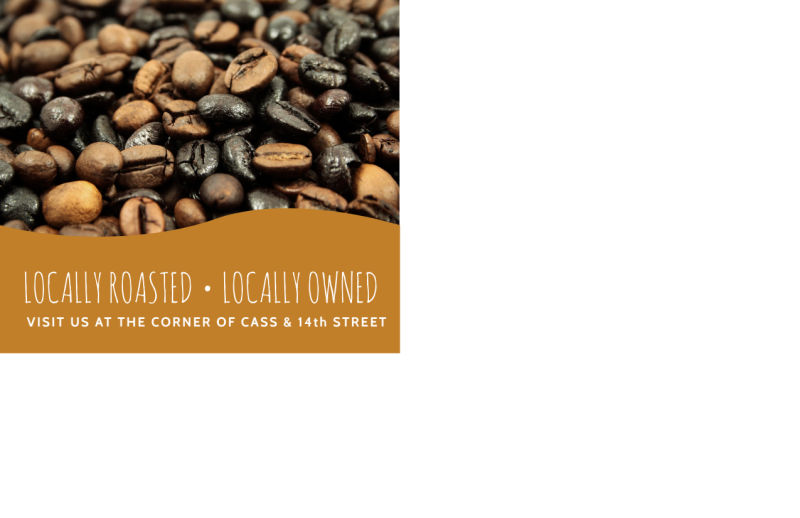 Wednesday Coffee BOGO Postcard Template Preview 3