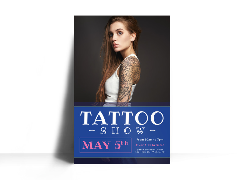 Tattoo Show Poster Template