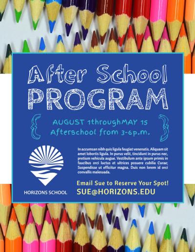 Fun After School Program Flyer Template Preview 1