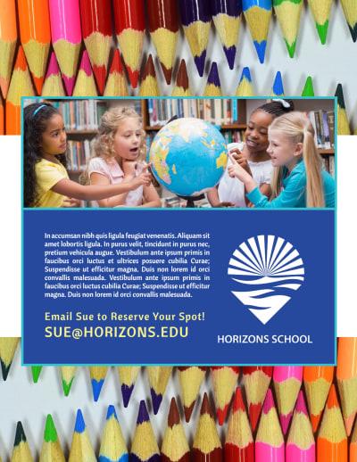 Fun After School Program Flyer Template Preview 2