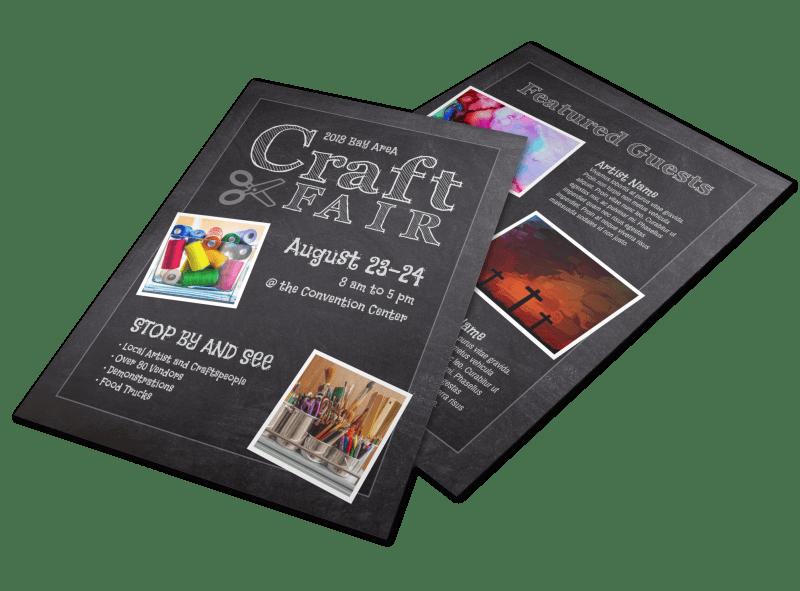 Beautiful Craft Fair Flyer Template Preview 1