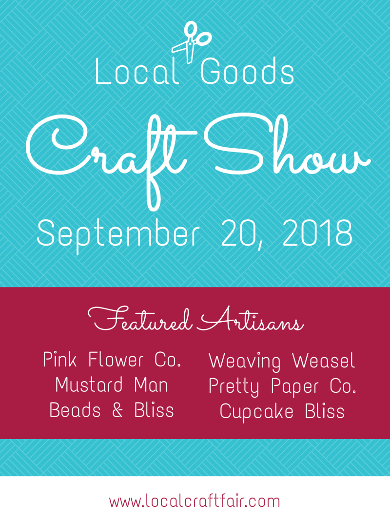 Local Goods Craft Fair Poster Template Preview 2