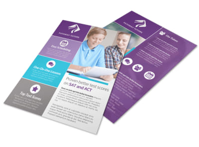 Proven Tutoring Flyer Template preview