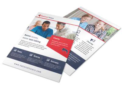 National Tutoring Flyer Template preview