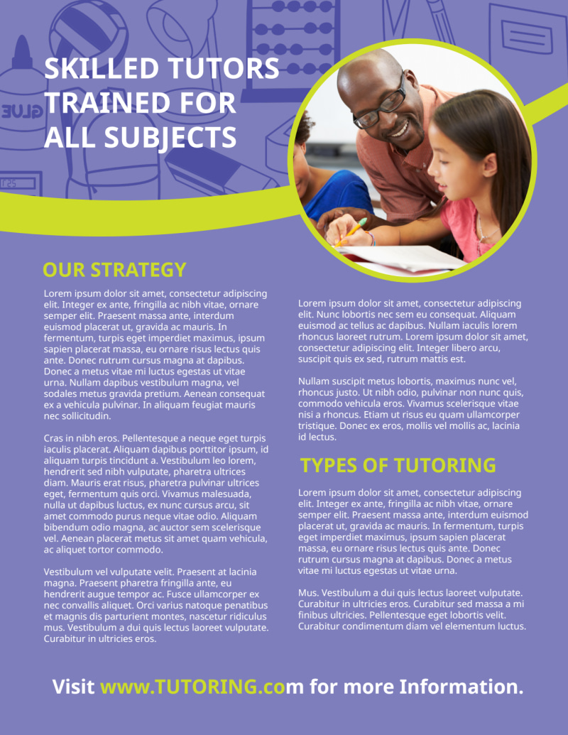 After School Tutoring Flyer Template Preview 3