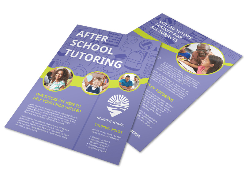 After School Tutoring Flyer Template Preview 4