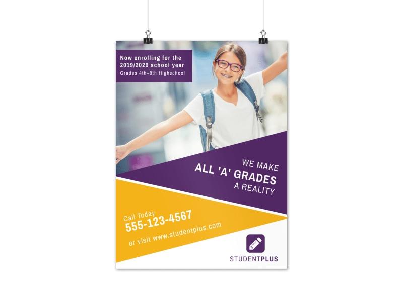 New School Year Poster Template