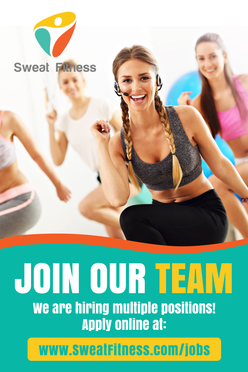 Join Our Team Poster Template Preview 2